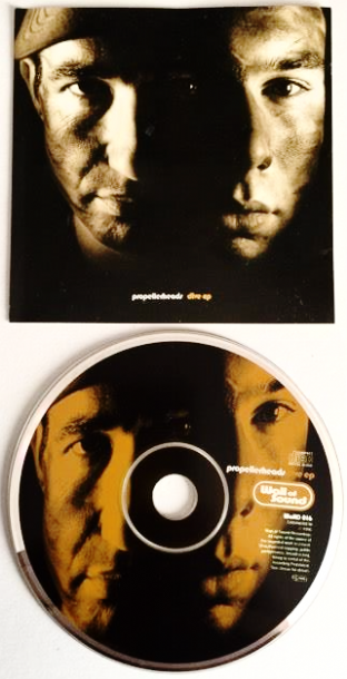 Propellerheads ‎- Dive EP (CD Single) (VG/VG)